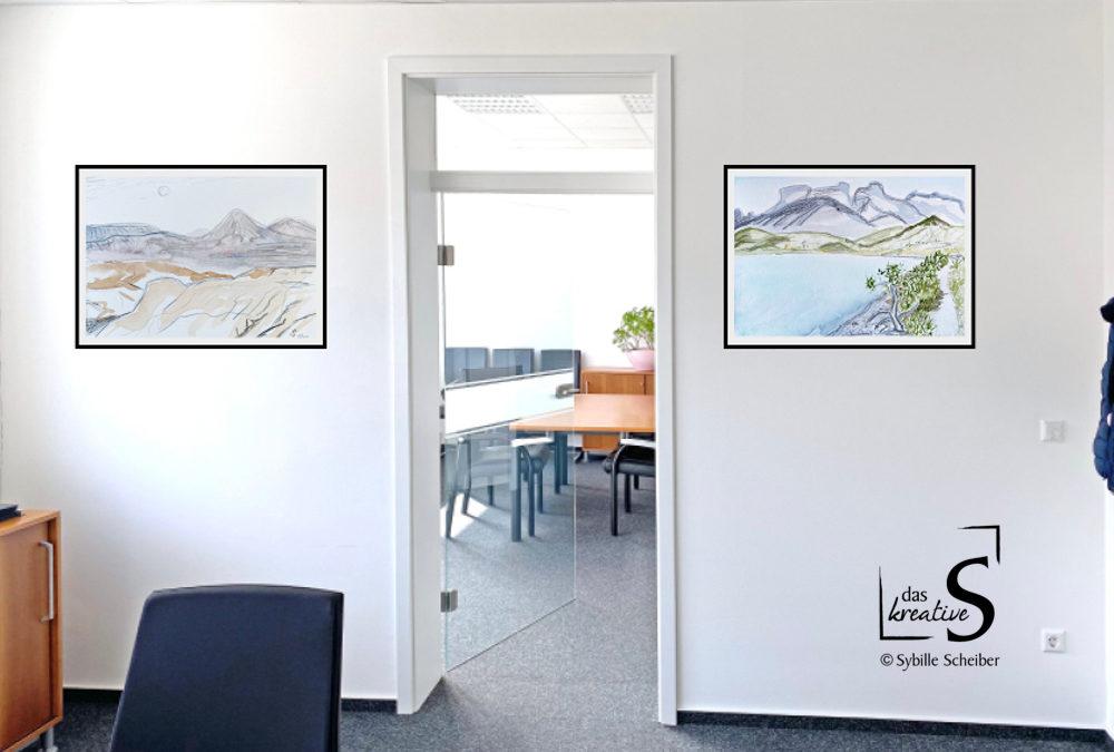 Kunst für Büro, Praxis oder Wartezimmer